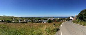 Panoramic view of the Isle of Man
